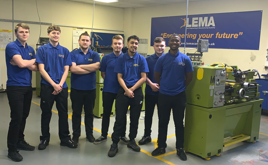 Image of LEMA apprentices